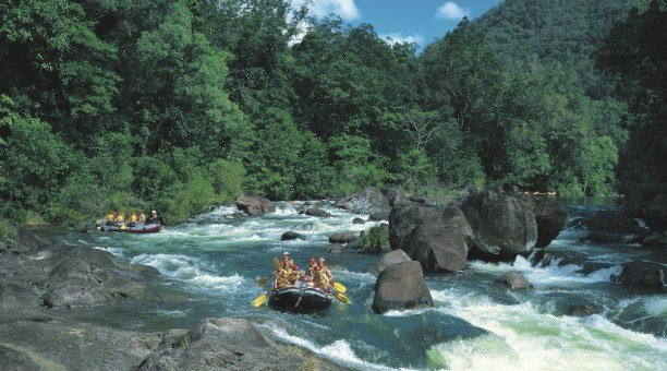 Rainforest, Rafting and Reef (3 day)