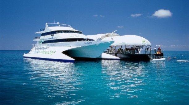 Whitsundays reef pontoon
