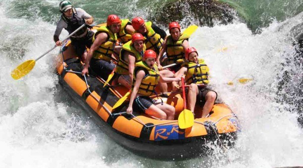 White Water Rafting Tully River