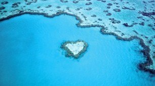 Whitsundays Heart Reef and Island Scenic Flight
