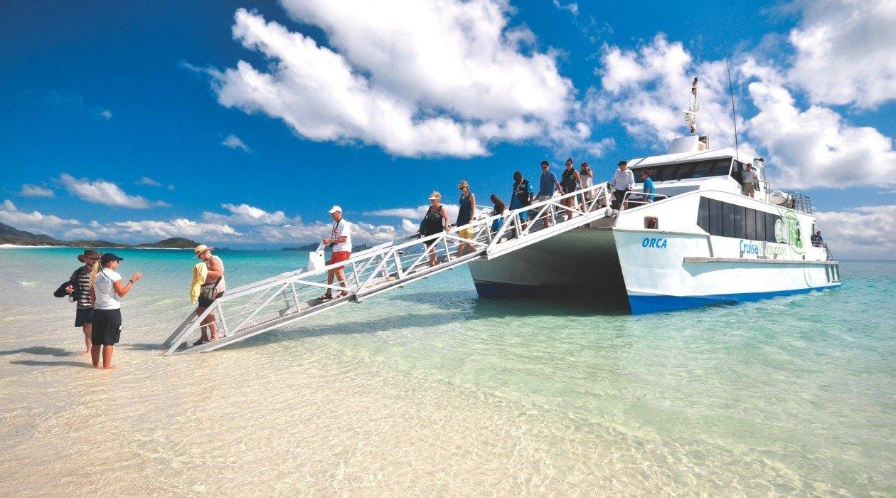Hamilton Island To Whitehaven Beach Ferry