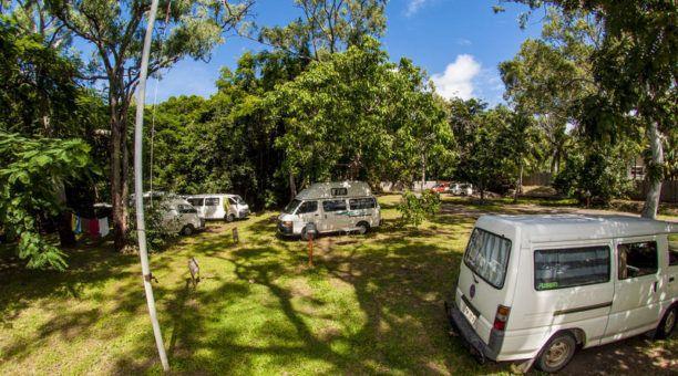 The camper sites