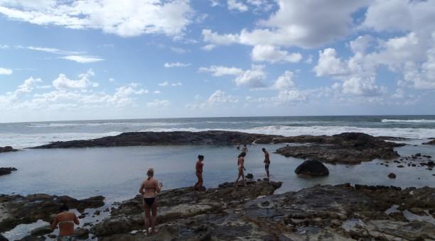 Champagne pools Fraser Island