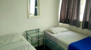 Twin Share room at Cairns Girls Hostel