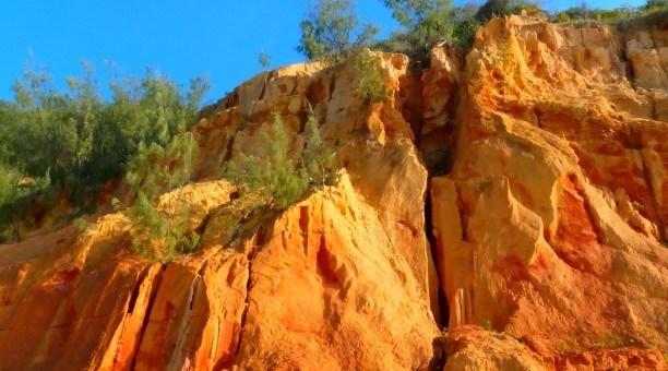 Coloured Sands Fraser Island Queensland Australia