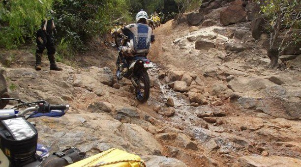Great off road trail bike riding