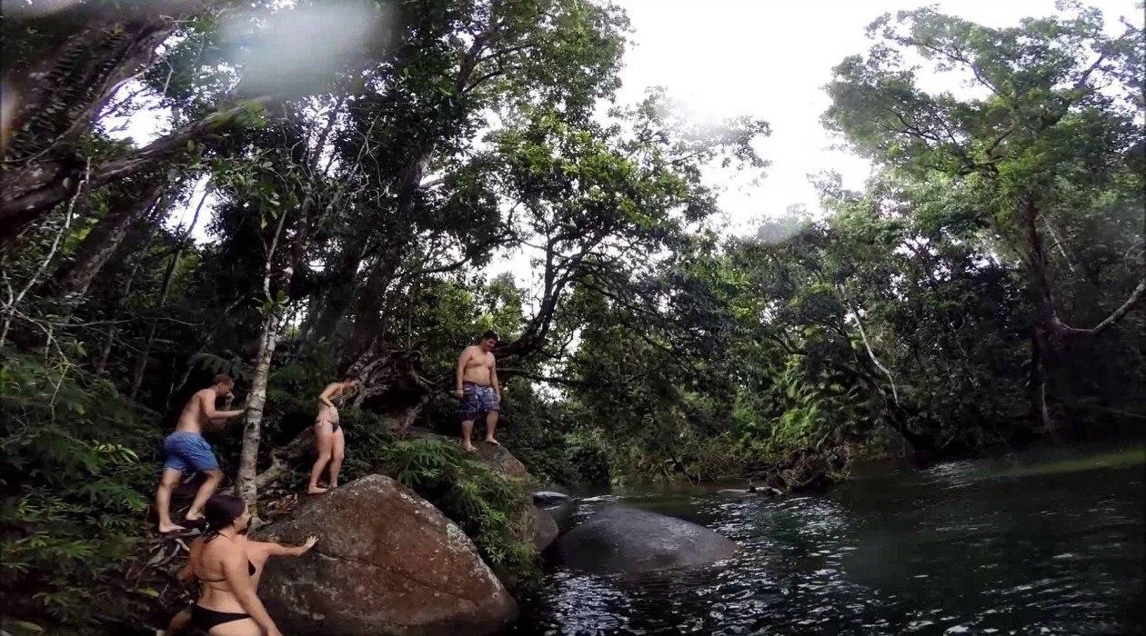 Barron Falls Lookout, Kuranda, Australia - A lot of rain ... |Cairns Australia Waterfalls