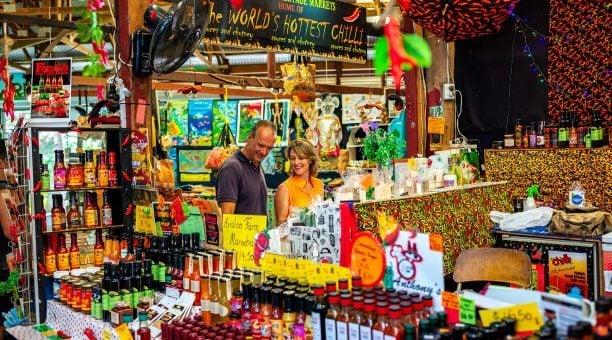 Kuranda world-famous markets