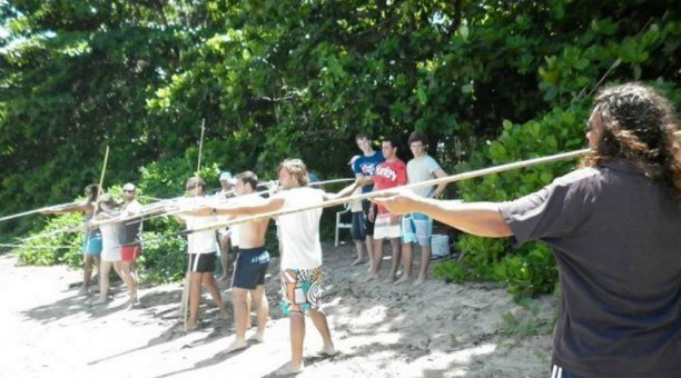 learn to throw a spear, North Queensland