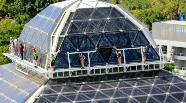 Dome climb