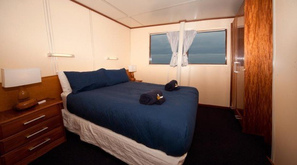 double bed stateroom