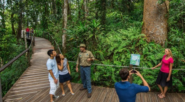 Red Peak Guided Ranger Tour Kuranda