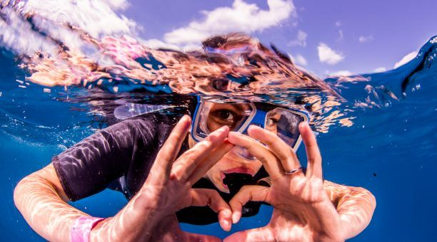 Love Snorkelling on Australia's Great Barrier Reef