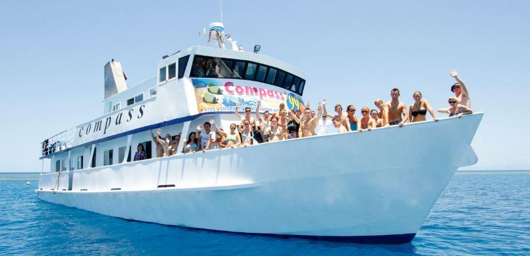 Cairns budget reef tour Compass Cruises