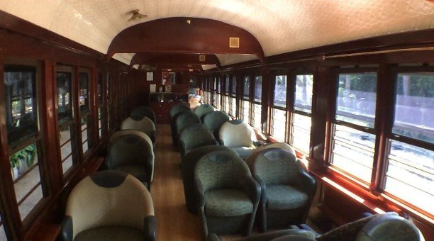 Cairns Scenic Railway gold class