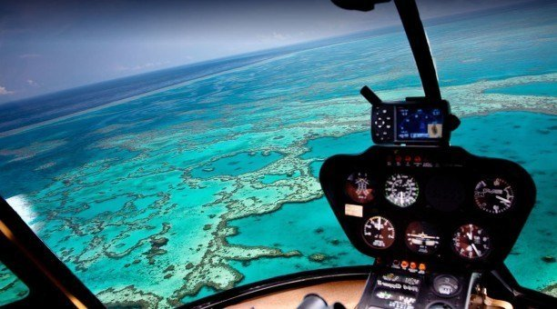 Great Barrier Reef scenic flight