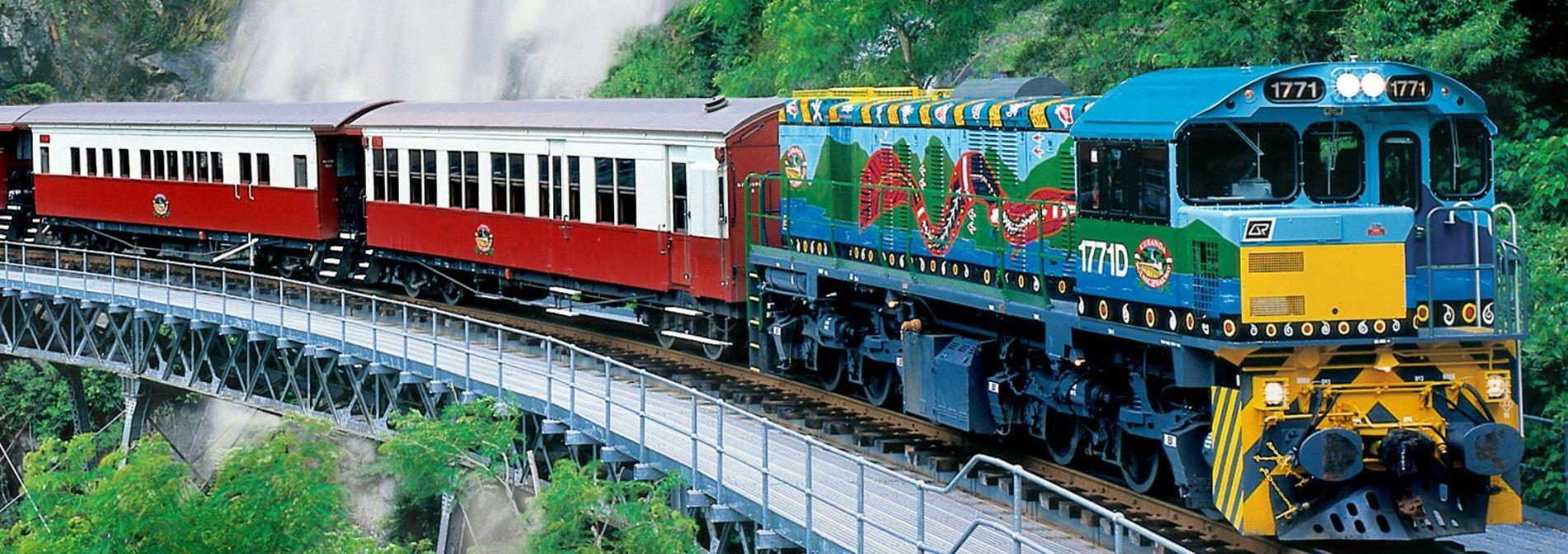 Kuranda historical scenic railway