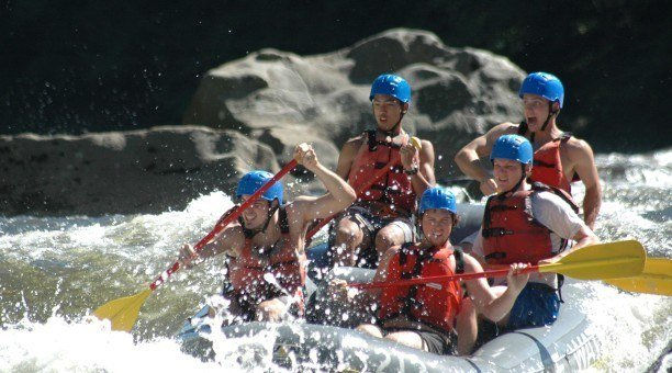 Cairns White Water rafting Barron River