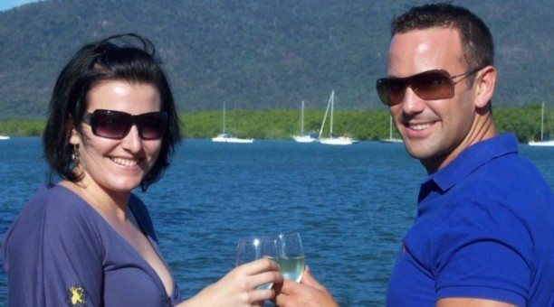 relaxing on the sunset cruise in Cairns