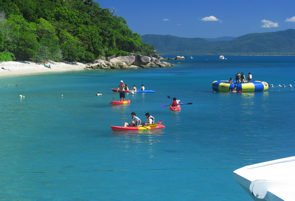 Spend a fun filled day on Fitzroy Island in North Queensland Australia