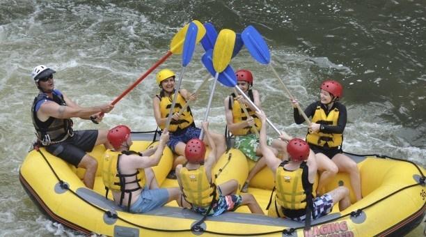 White Water Rafting Barron River
