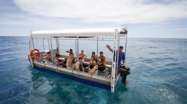 Great Barrier Reef glass bottom Boat