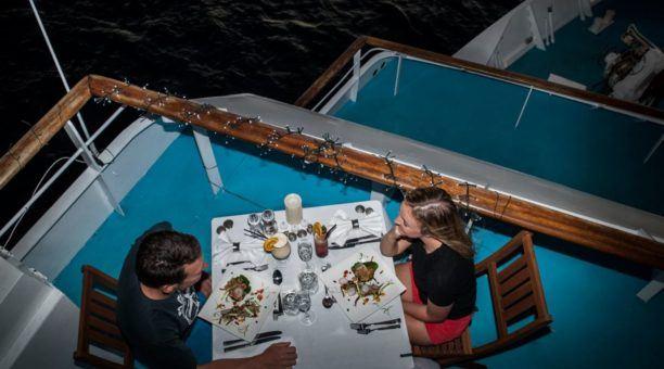 Dine under the stars