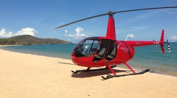 helifishing North Queensland
