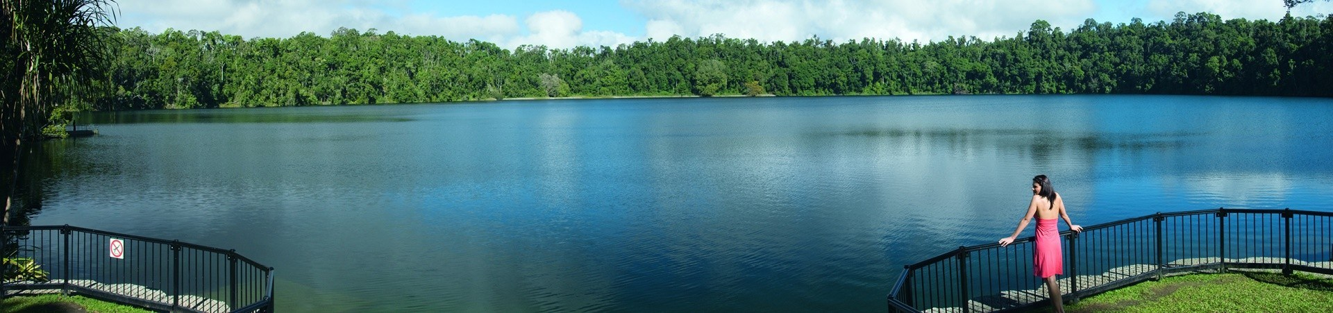 Atherton Tablelands places of interest include Lake Barrine