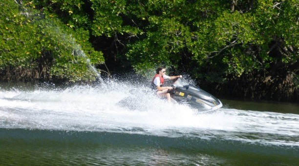 jet skiing Cairns