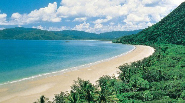 Cape Tribulation Beach,, North Queensland, Australia