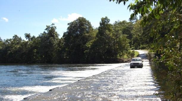 Bloomfield River Crossing  North Queensland Australia