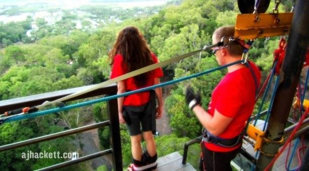 bungy Jump North Queensland, Australia