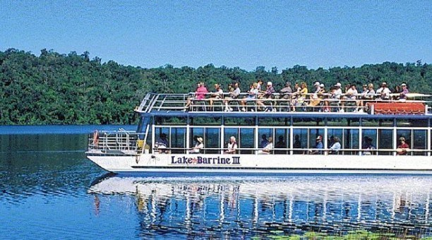 Lake Barrine cruise, North Queensland