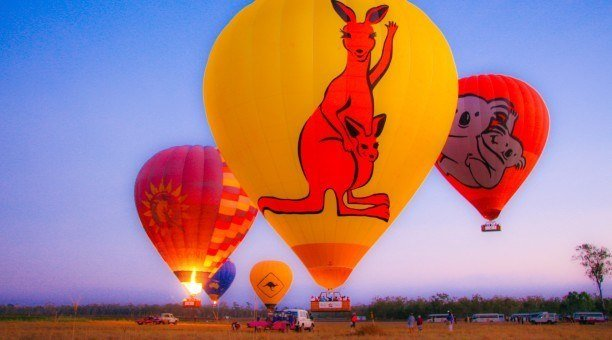 Hot Air Ballooning, North Queensland Australia