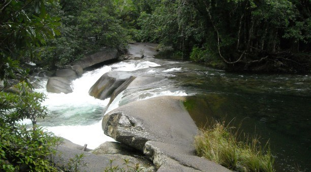 Babinda Boulders, North Queensland Australia