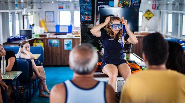 Snorkel demonstration