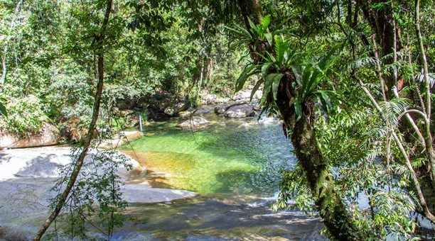 Josephine Falls swimming hole