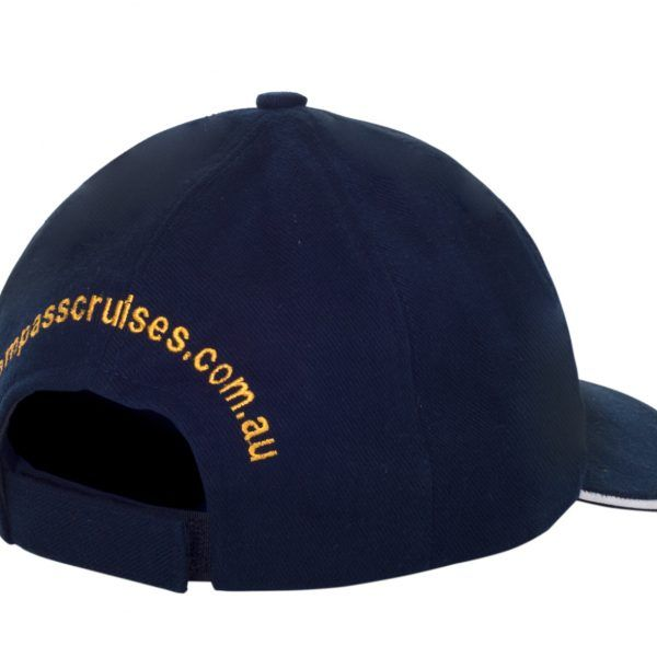 Compass Cruises Blue cap back