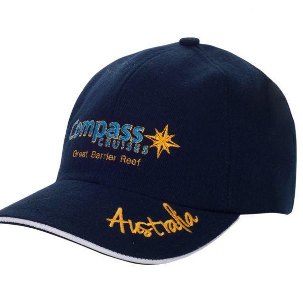 Compass Cruises Blue Cap