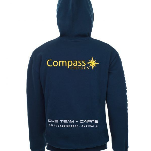 Compass Cruises Hoodie Back