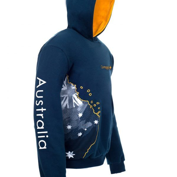 Compass Cruises Hoodie Side