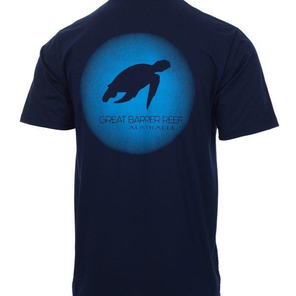 Compass Cruises Turtle Tshirt back