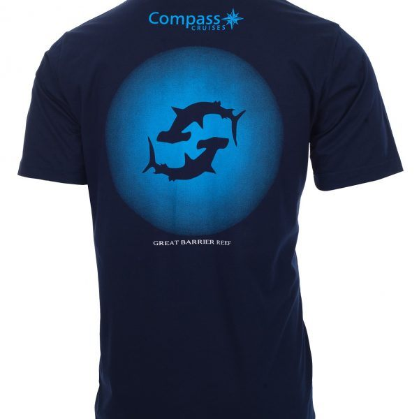 Compass Cruises Hammerhead Tshirt Back