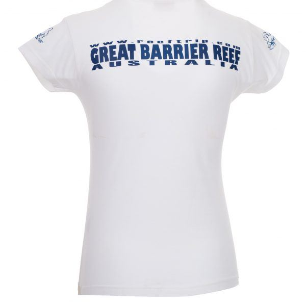 Ladies Save Our Seas Tshirt back