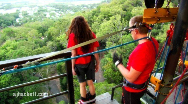 bungy Jump North Queensland, Australia