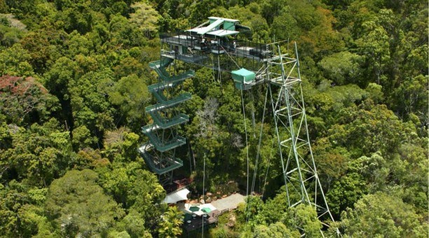 Bungy in Cairns