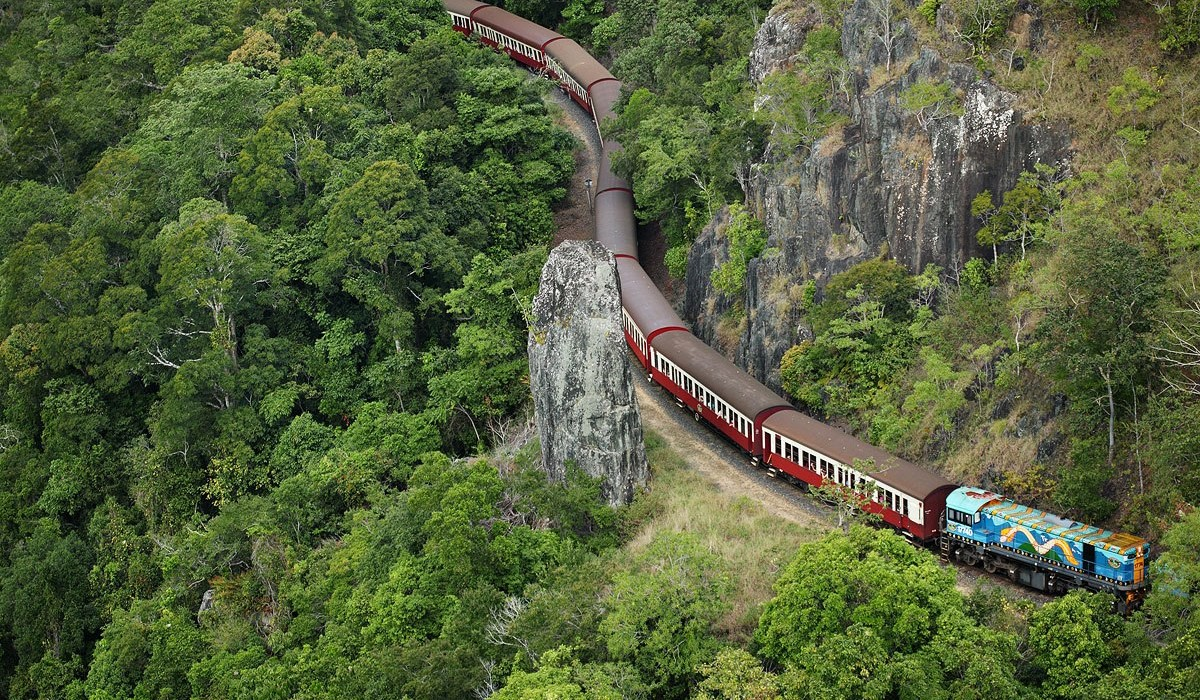 Kuranda Scenic Railway North Queensland Australia