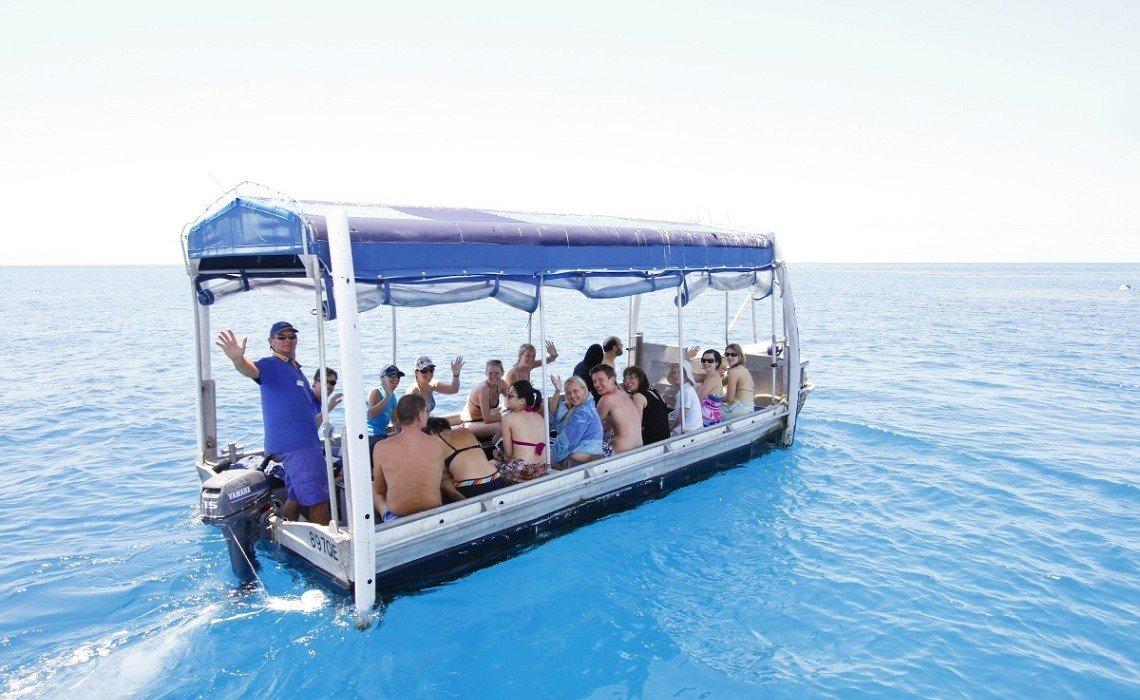 Cairns Australia Glass Bottom Boat Tour