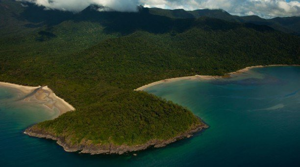 Birds eye view, Daintree